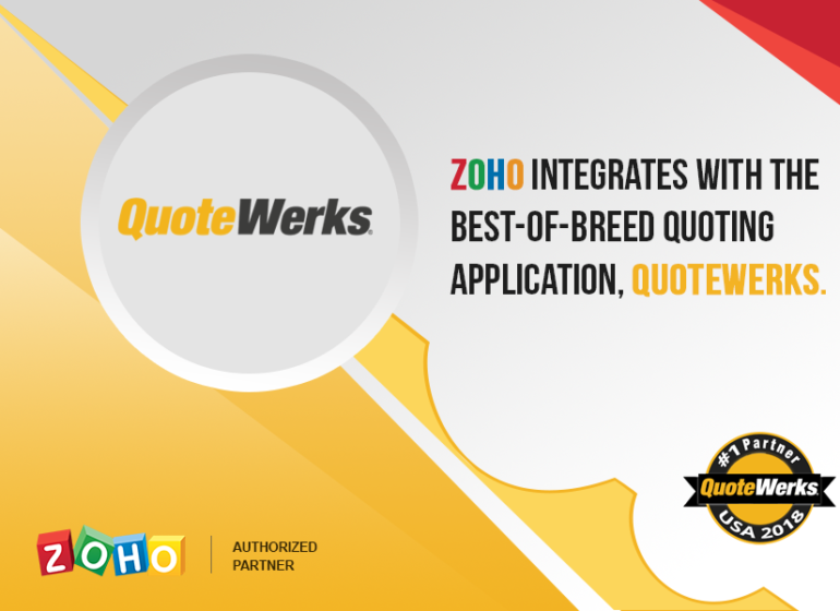 Zoho integration with QuoteWerks