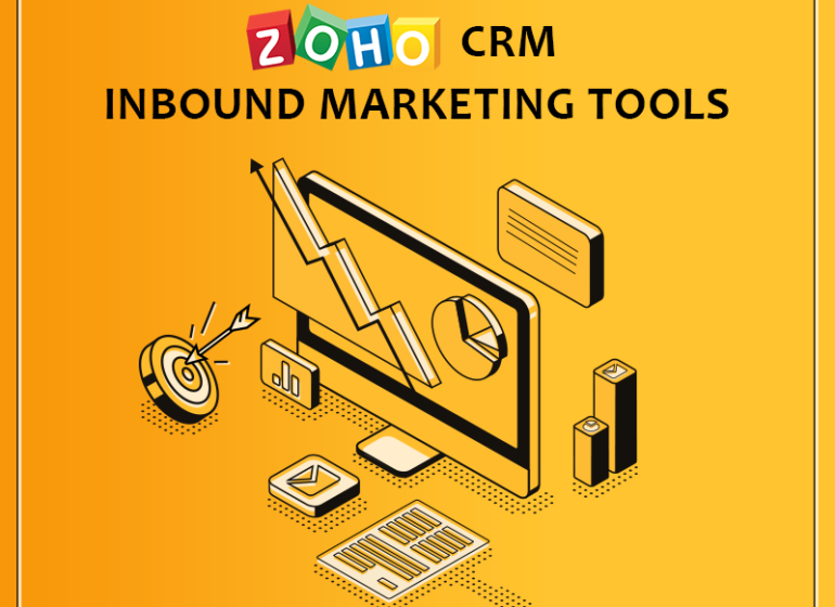 ZOHO CRM INBOUND MARKETING TOOLS