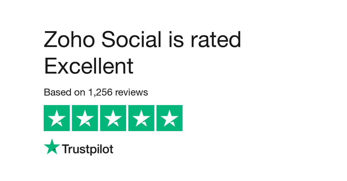 Zoho Social Ratings