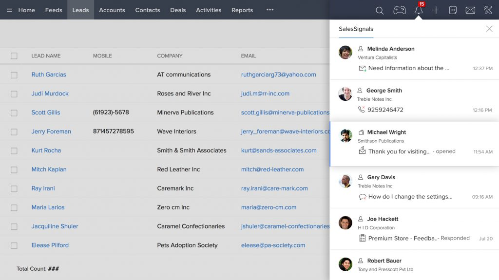 Zoho Mail Conversations