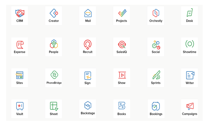 Zoho One - App Layer