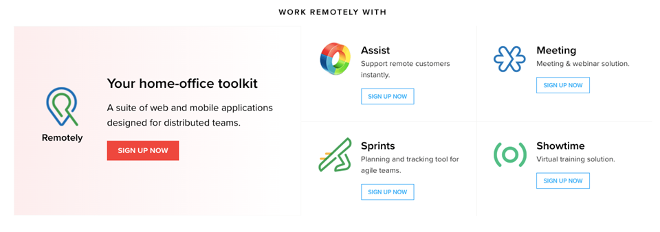 Zoho Remotely Software Suite