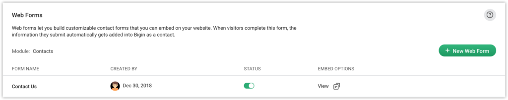Use Web Forms to Improve Customer Experience