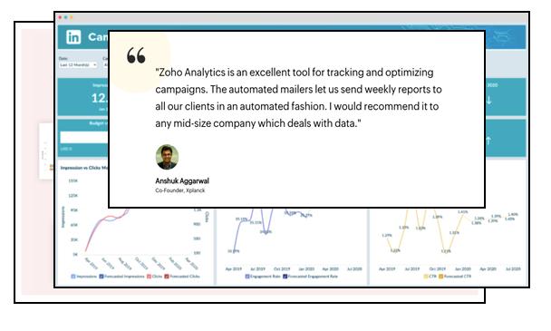 Zoho Analytics Combines Data